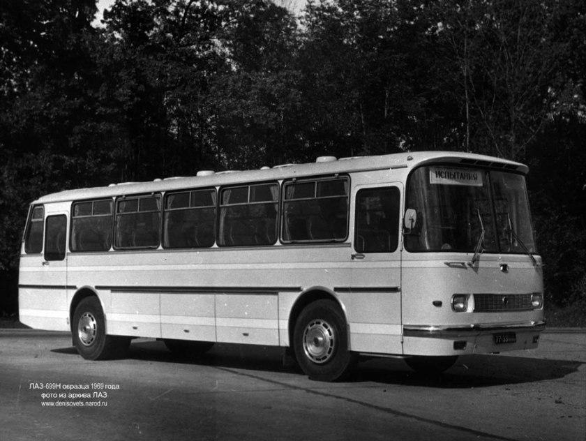 1969 LAZ 699N 2