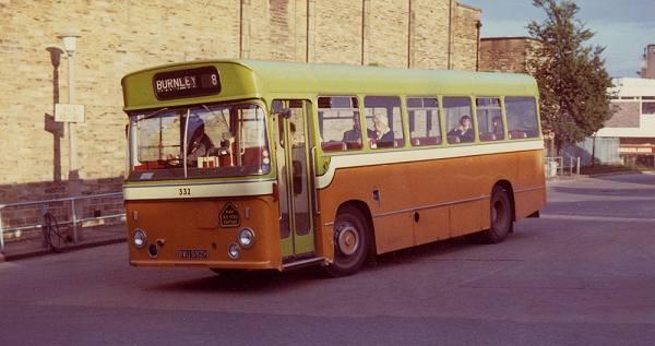 1969 Leyland Leopard-Pennine new to Todmorden J.O.C.