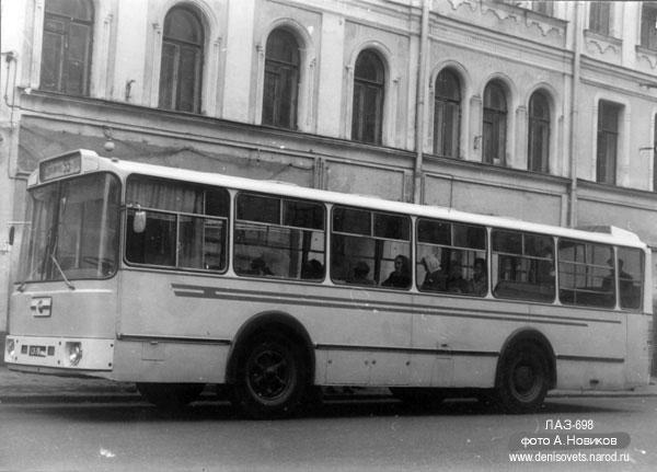 1972 LAZ 698 22