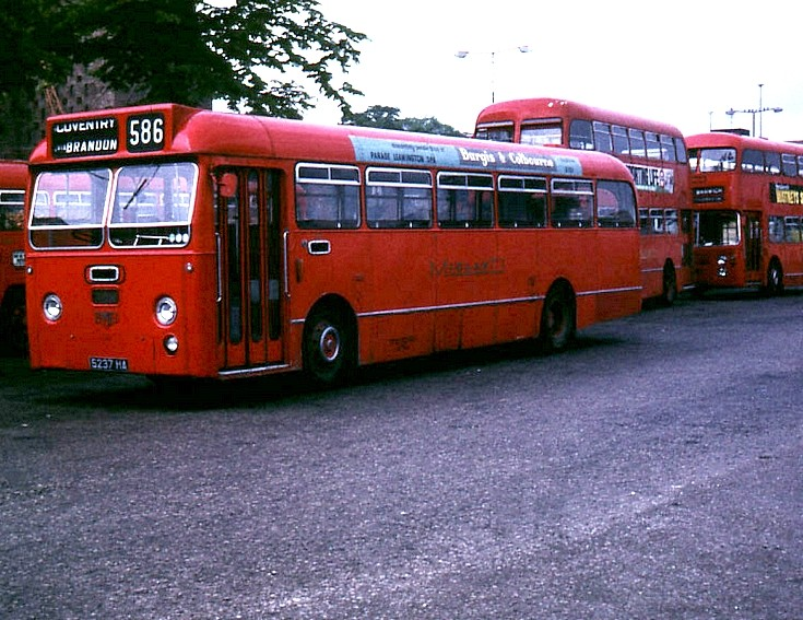 1973 Leyland with Willowbrook  B53F
