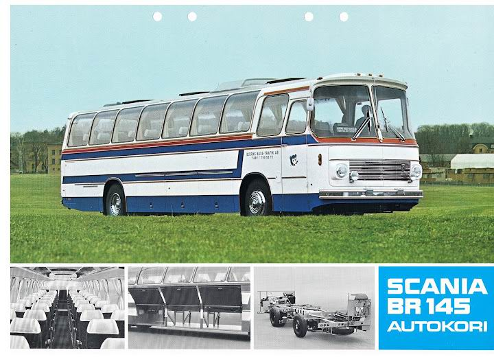 1973 SCANIA BR145 Autokori