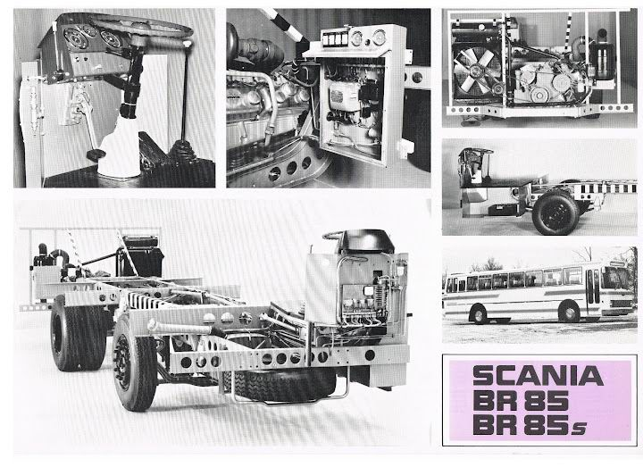 1973 SCANIA BR85 BR85s