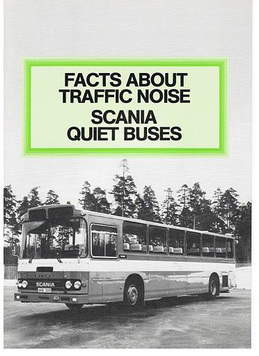 1973 SCANIA QUIET BUSES