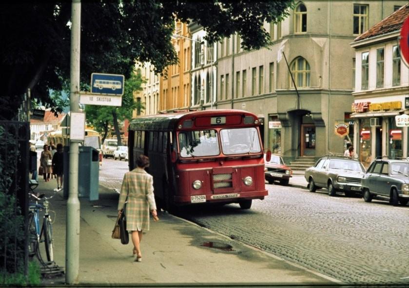 1973 Scania Vabis 1973 buss U-75209