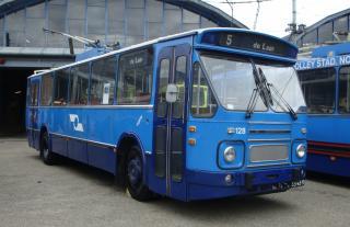 1974 DAF MB200DKDL600-Kiepe - Den Oudsten