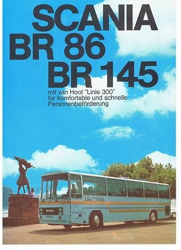 1974 SCANIA BR86+BR145 van hool