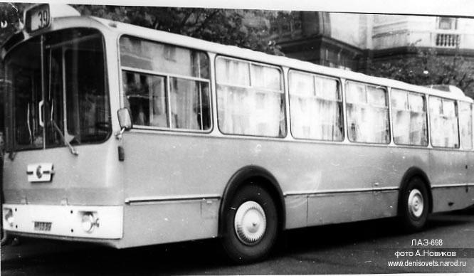 1976 LAZ 698 16