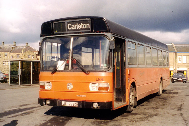1976 Leyland Nation bus JIL2793