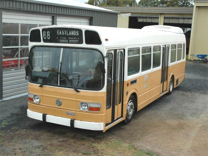1976 LEYLAND NATIONAL 601