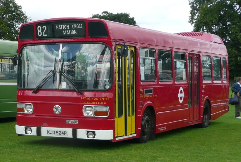 1976 Leyland National London Transport