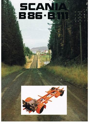 1976 SCANIA BR86-B111