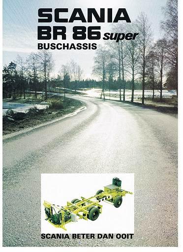 1976 SCANIA BR86 Super 76