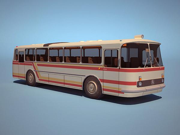 1978 laz 695N-699R 3d model