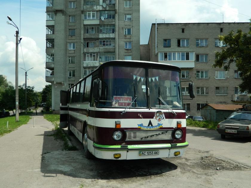 1978 LAZ-699R AC 1253 AK