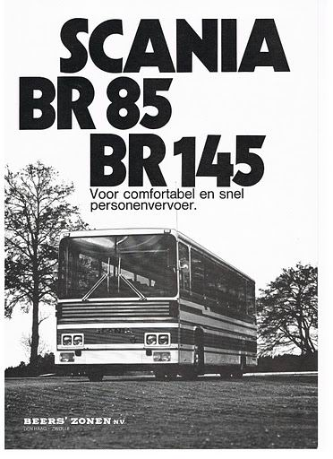 1978 SCANIA BR85 BR145 (Beers 1978)