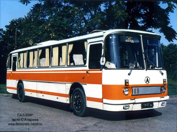 1983-90 LAZ 699R 1