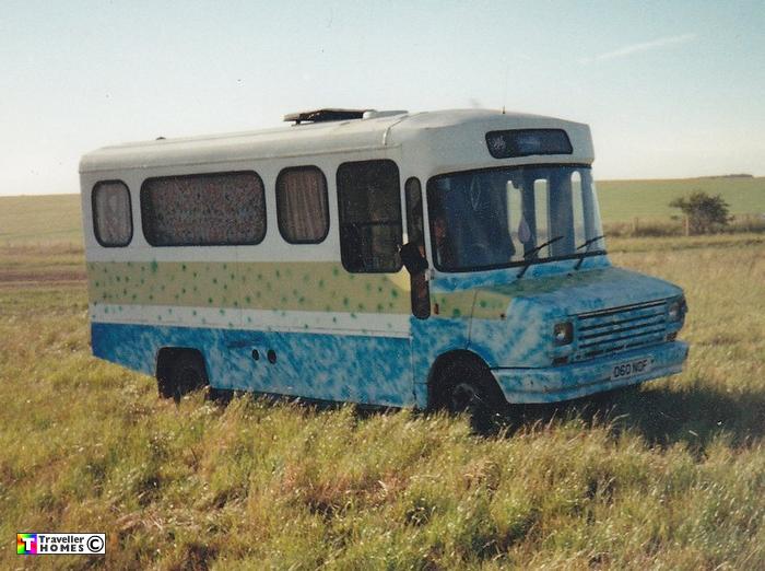 1986 LDV Mini-Bus At Stonehenge