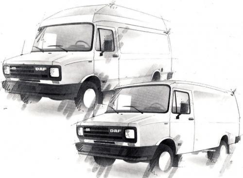 1988-93 Daf 400 en LDV fans