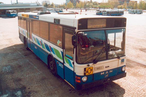 1990 MAN Carrus Wiima K202 nestekaasu