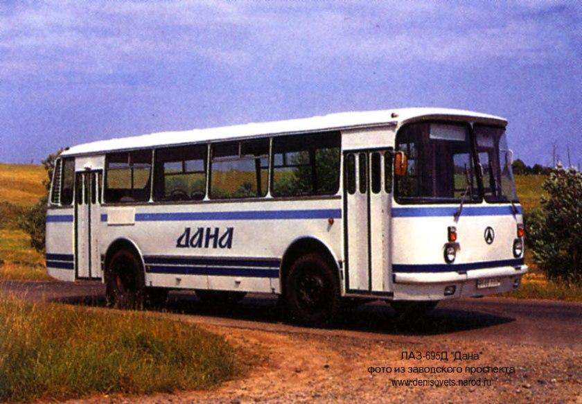 1993 LAZ 695D 1