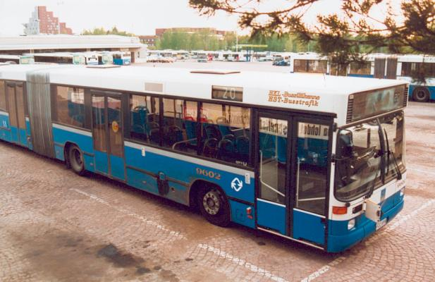 1996 Carrus City U nivel Articulated Volvo