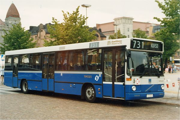 1996 Volvo b10B LMF Carrus City M