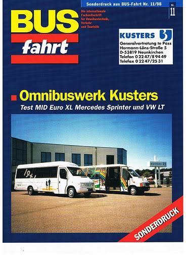1998 KUSTERS BUSfahrt 11