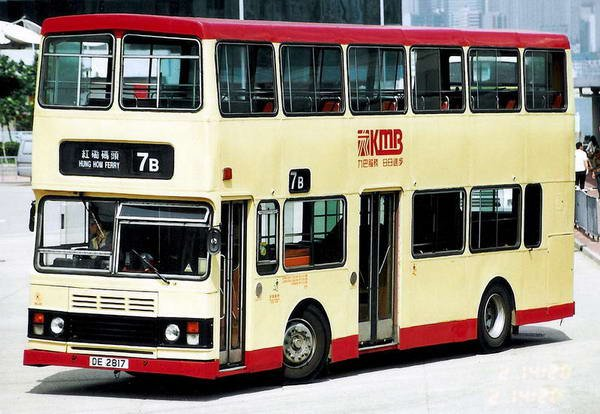2-axle Leyland Olympian in Hong Kong.