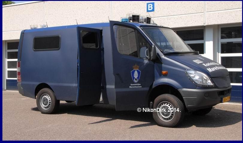2000 VDL Kusters (Venlo)MB Sprinter Koninklijke Marechaussee NikonDirk2014