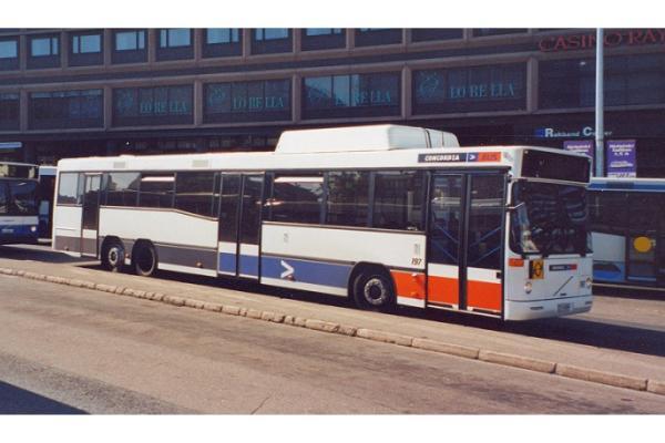 2000 Volvo B10B 6x2 CNG Carrus City L maakaasuteli