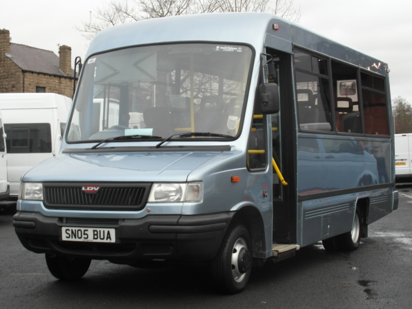 2001 LDV Convoy UVG Wheel Chair Acces