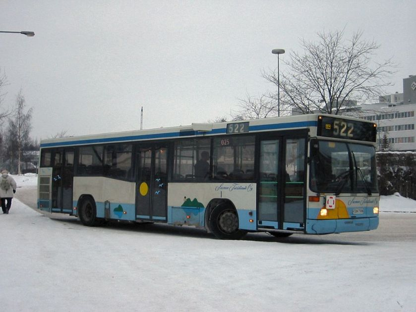 2001 Volvo B10L Carrus City U