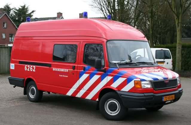 2010 LDV Convoy Brandweer Diessen Nederland