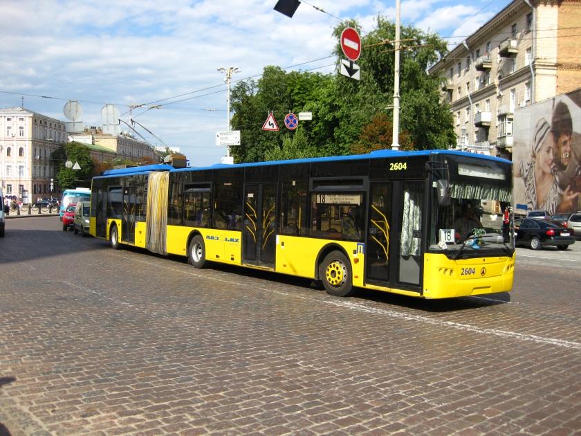 2010 Trolleybus LAZ E301