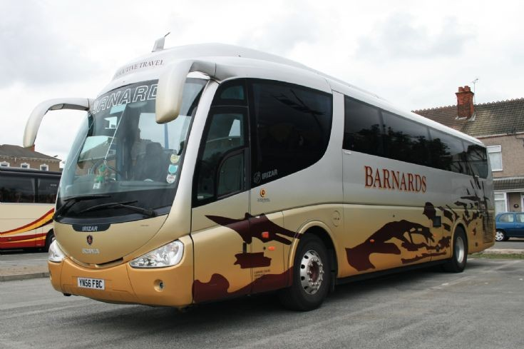 2011 Scania Irizar coach of Barnards 2011