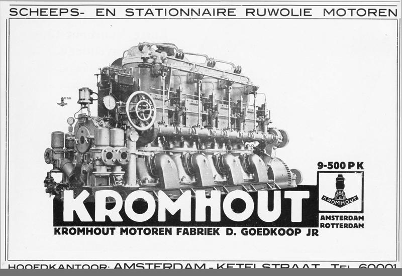 Advertentie Kromhout
