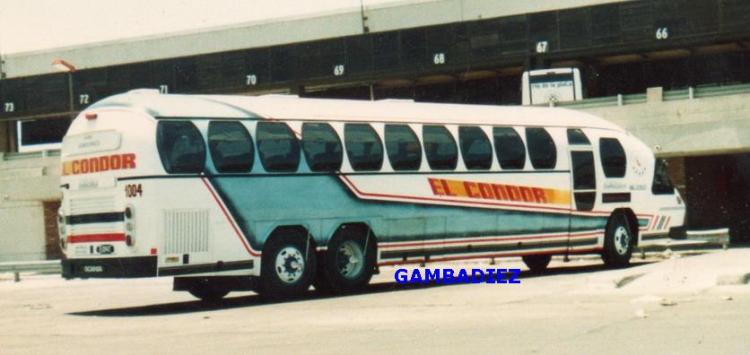 Aerobus Scania K112 Argentina 1987aa