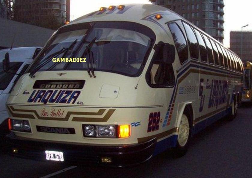 Aerobus Scania K112 Argentina 1987e