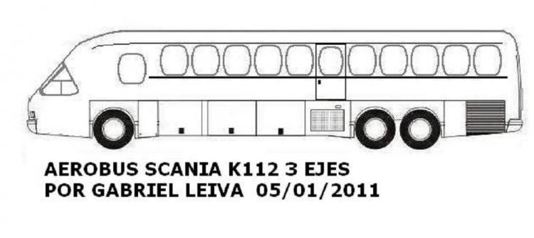 Aerobus Scania K112 Argentina 1987g