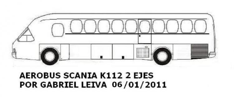 Aerobus Scania K112 Argentina 1987i