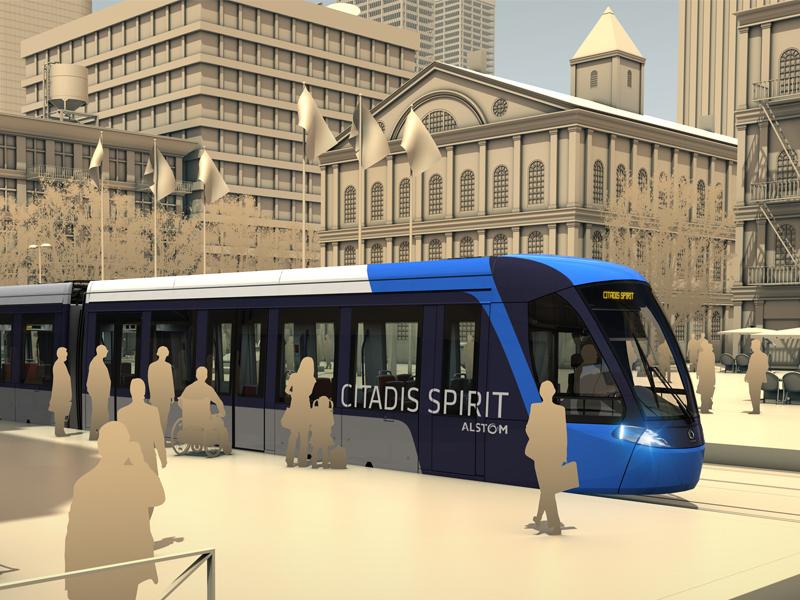 Alstom Citadis Kiepe Spirit Square