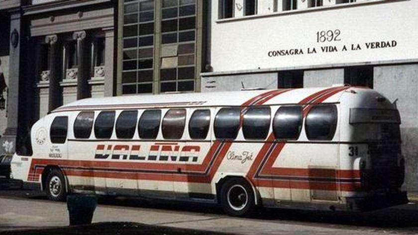 Bussen Aerobus 4x2 Scania 112
