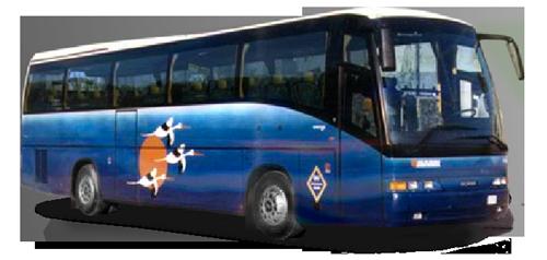 Bussen Beulas Scania 1993-1999
