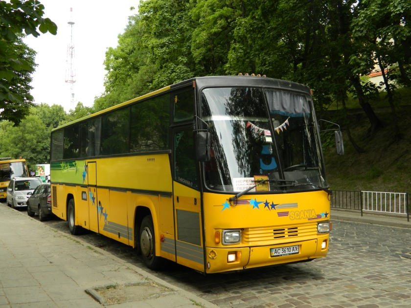Bussen Smit Orion Scania bus