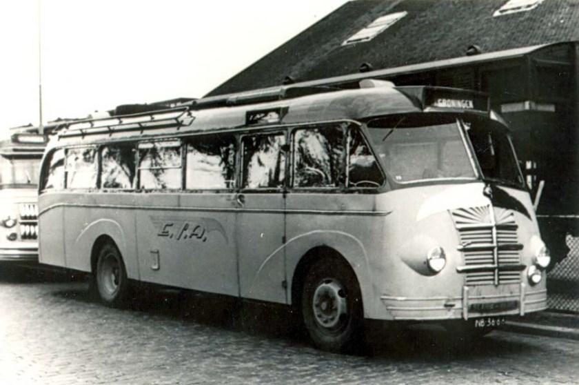 ESA 73 Scania Vabis Brouwers Holwerd (Ex NOF)