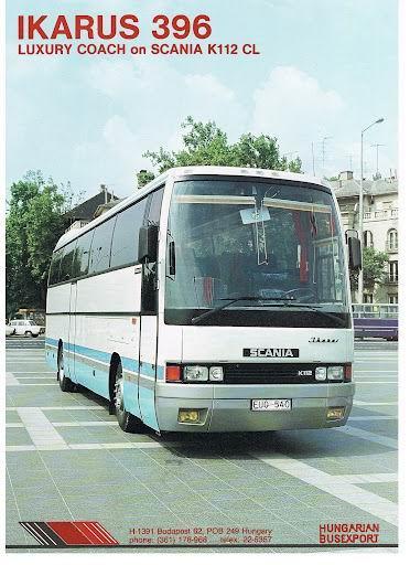 IKARUS 396 op Scania K112CL