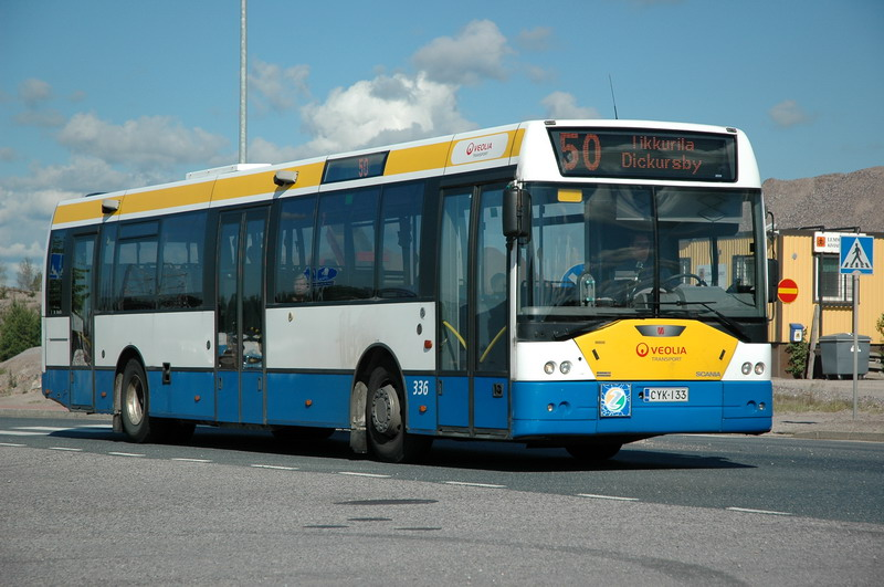 Ikarus Scania Finland
