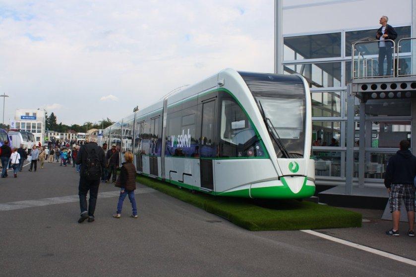 Innotrans '12 - Vossloh Tramlink by ZCochrane