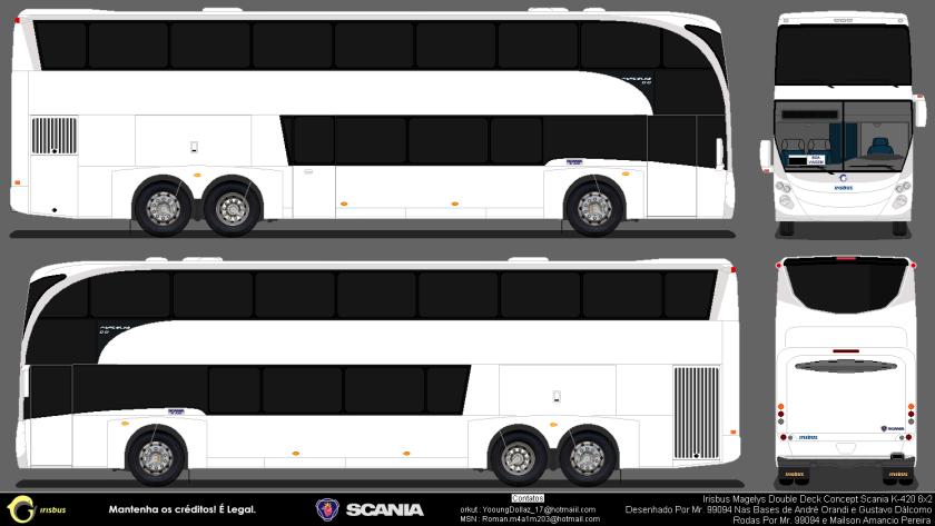 irisbus magelys dd scania k420