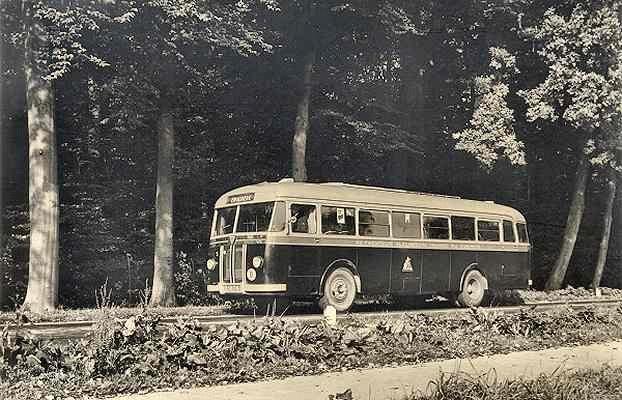 Kromhout nr. 5 met carrosserie van Verheul (op demonstratie chassis)